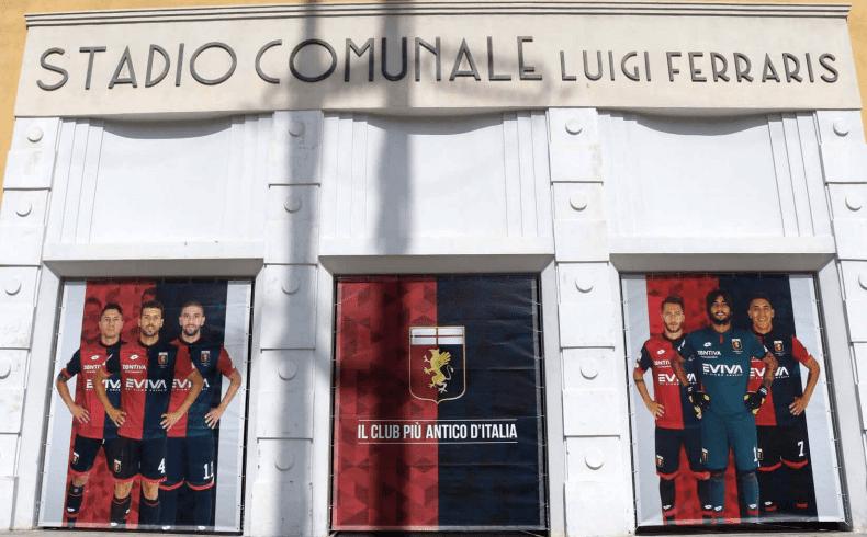 Stadio Luigi Ferraris Marassi Genoa