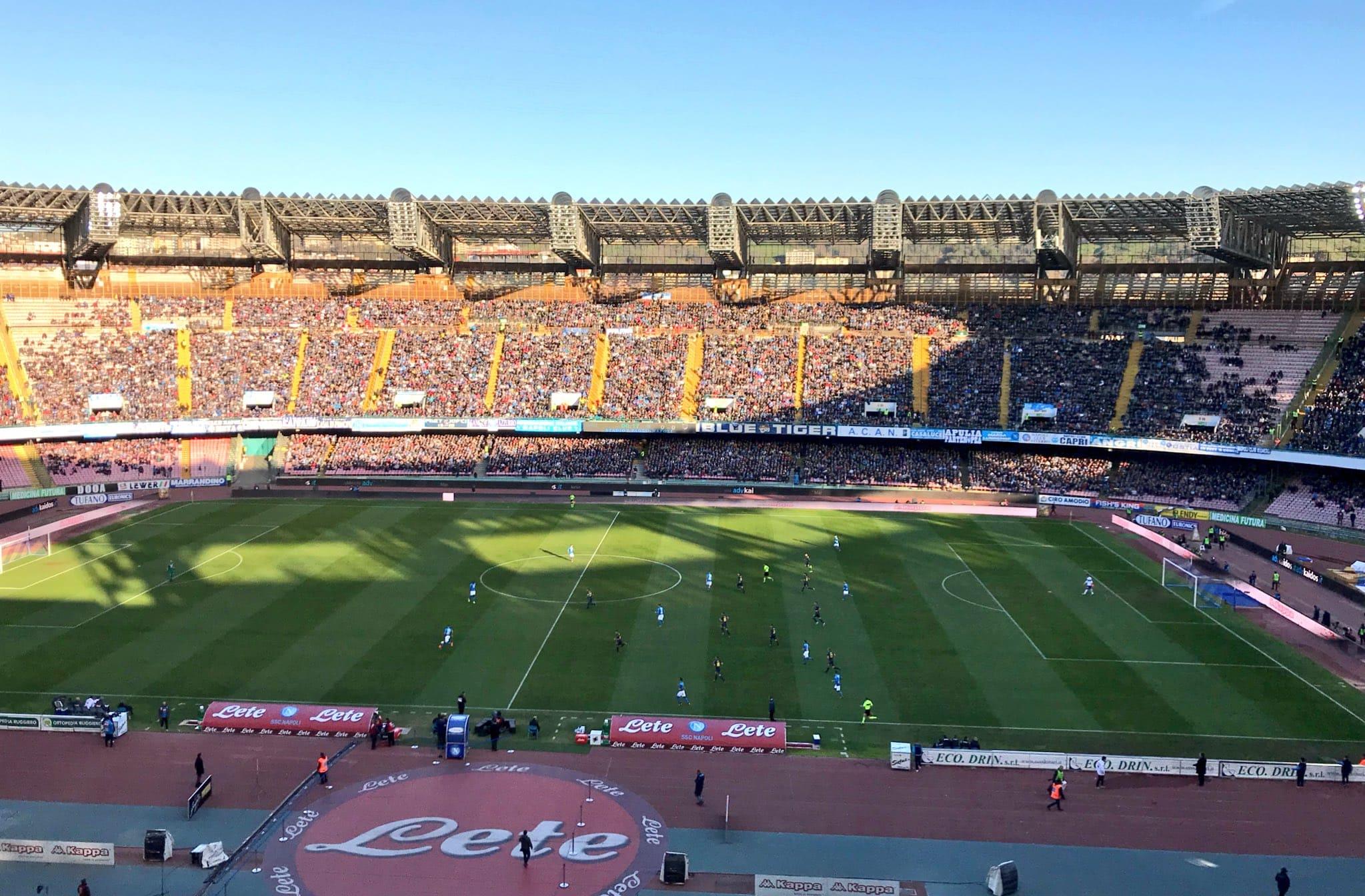VISITato per voi! Stadio San Paolo di Napoli